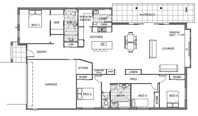 Panel Homes Pre-cast Concrete Design - Bellbird