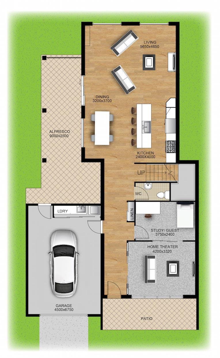 Panel Homes Pre-cast Concrete Design - Casuarina