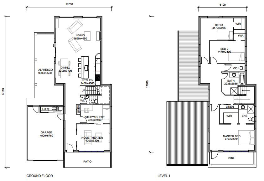 View Banksia 3D Plan