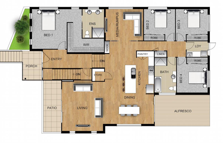 Panel Homes Pre-cast Concrete Design - Florida