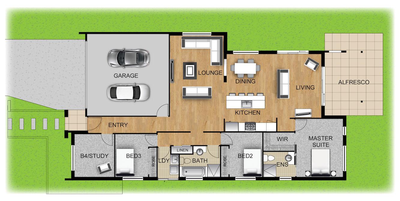 Panel Homes Pre-cast Concrete Design - Jarrah